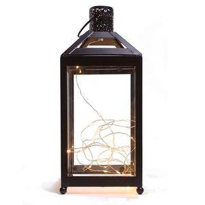 Lucerna do interiéru s LED diodami , 13, 5 x 13, 5 x 31, 8 cm obraz