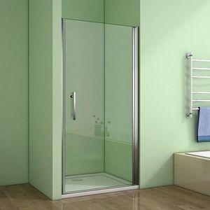 H K Sprchové dveře MELODY D1 100 jednokřídlé dveře 99-102 x 195 cm SE- MELODYD1100SET obraz