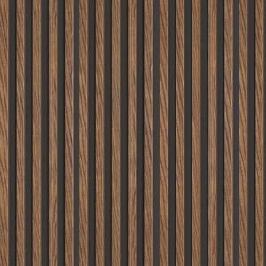 Lamelový panel VOX LINERIO S-LINE Mocca 12x122x2650mm obraz