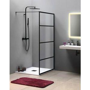 GELCO CURE BLACK sprchová zástěna 1000mm, černá mat CB100 obraz