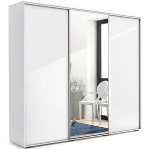 Skříň Aniela A25 250 Zrcadlo/Bílý obraz