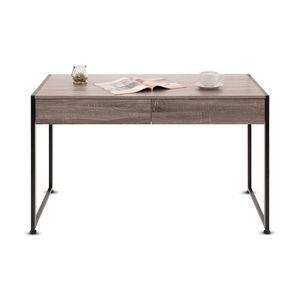 Tutumi Psací stůl Skandinávského stylu - hnědá obraz