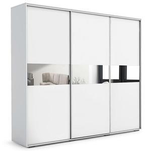 Skříň Daria A27 Zrcadlo 0, 25 - Bílá obraz