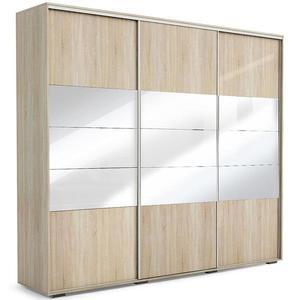 Skříň Milena A26 250 Zrcadlo Sonoma obraz