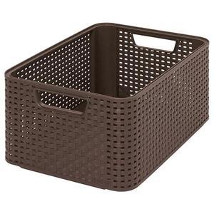 CURVER STYLE BOX úložný box - M- hnědý obraz