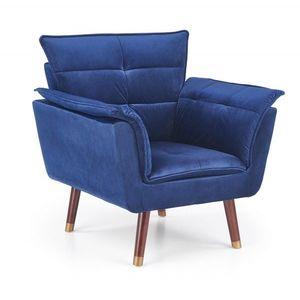 Halmar Relaxační křeslo Zefo modré obraz