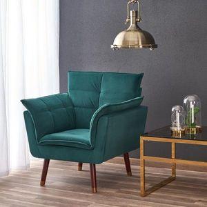 Halmar Relaxační křeslo Zefo tmavě zelené obraz