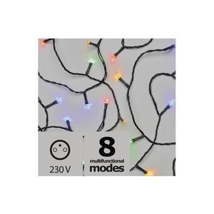 EMOS ZY2014 96 LED řetěz, 10m, červ./zel./mod., programy, časovač obraz