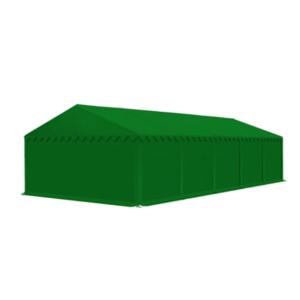 Skladový stan 5x10m EKONOMY Zelená obraz