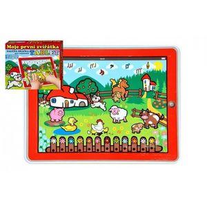 Teddies Tablet farma Moje první zvířátka obraz